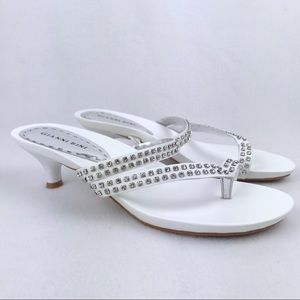 Gianni Bini | Women's White Sandals NWOT Size 8.5M